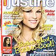 Justine Cover Model August / Sept Ashley Durham