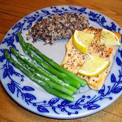 Citrus Broiled alaska Salmon