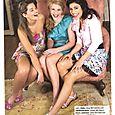 Hailey Paul, Natalie Phillips, Hosanna in Justine Magazine April/May 2010