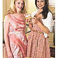 Hailey Paul & Hosanna Kabakoro Justine Magazine April/May 2010