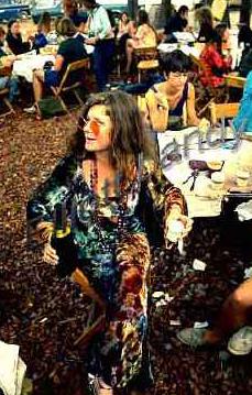 Janis Joplin Woodstock Fest 69