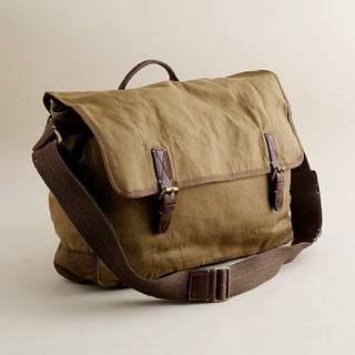 J Crew Bowery Messenger Bag 98
